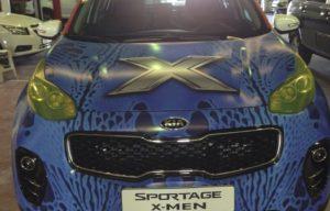 Vehicle signage service - Gigantia