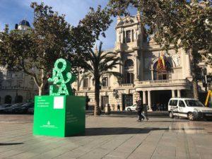 Gigantia, 3D signage in Valencia