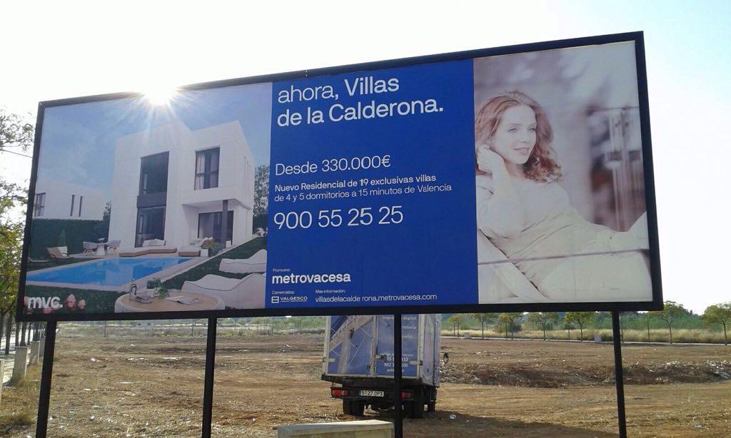 Gigantia, advertising billboard assembly