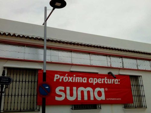 3d signs for businesses gigantia supermarket suma