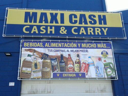 señaletica maxi cash