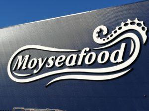 Rotulo corporeo Moyseafood