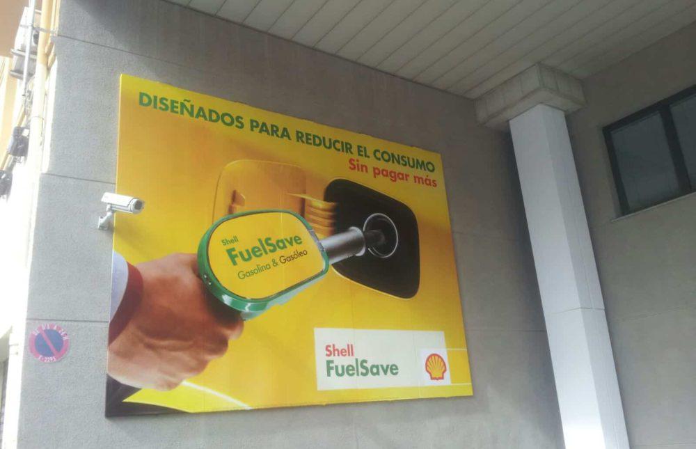 billboard printing for shell