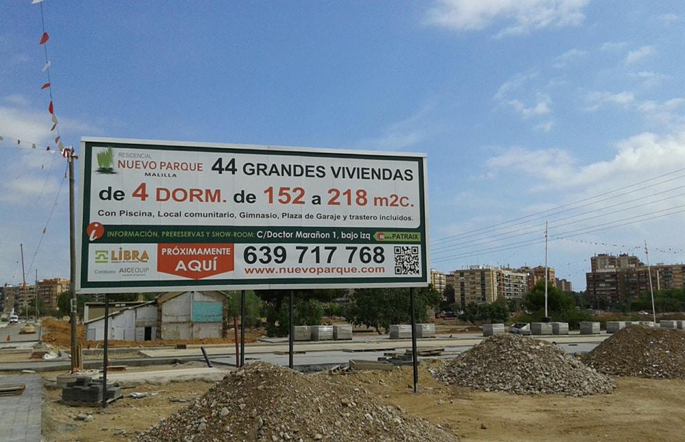 billboard printing: Nuevo parque