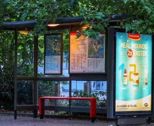 impresion para publicidad en paradas de bus