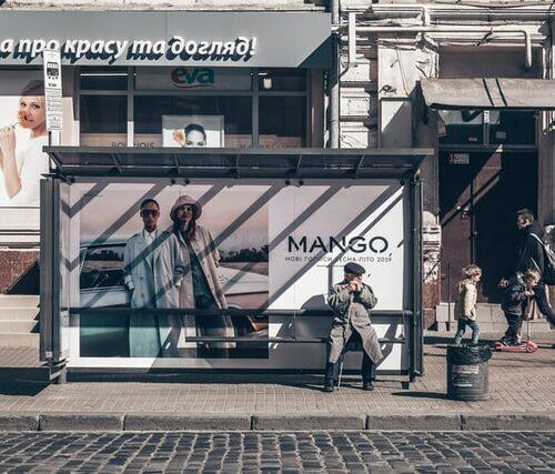 publicidad parada de bus